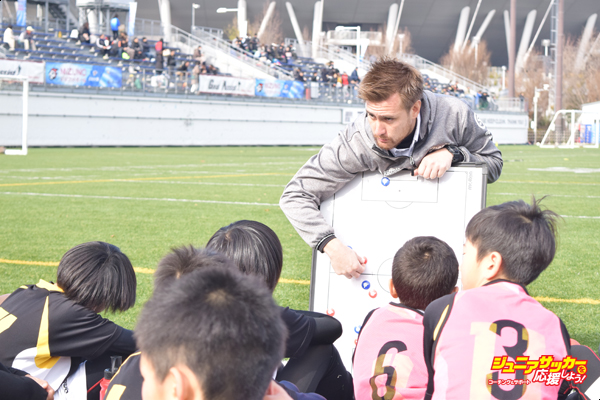 ジュニアサッカーを応援しように記事が掲載されました